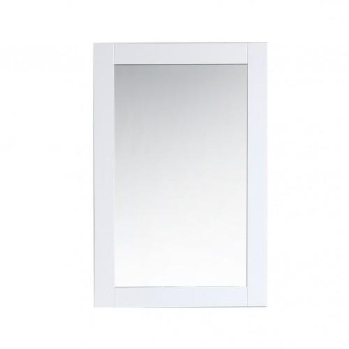 "Virta 24"" Solid Wood Bathroom Mirror"