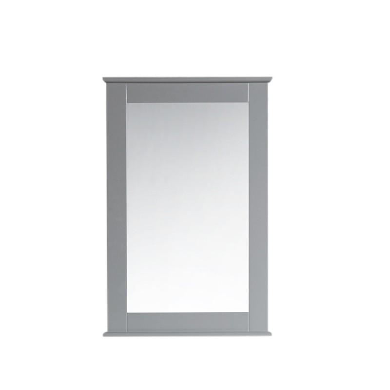 "Virta Rectangular 24"" Bathroom Mirror with Decorative Molding"