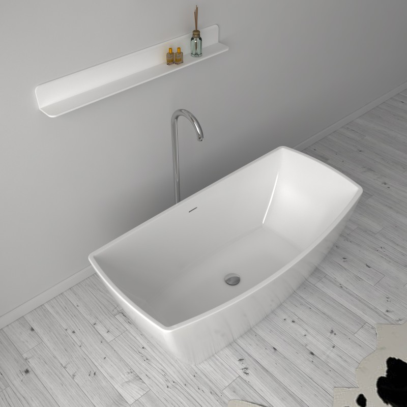 "Venice Freestanding Acrylic 60"" Tub"