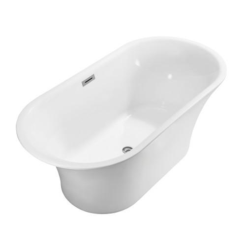"Seville Freestanding Acrylic 67"" Tub"
