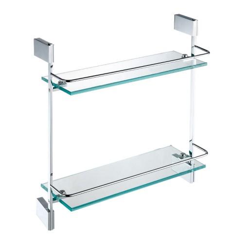 Pallas Double Glass Shelf