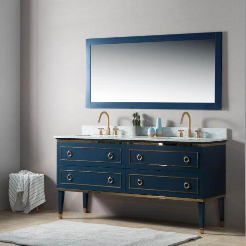 """Bluestar 60"""" Double Sink Vanity"""