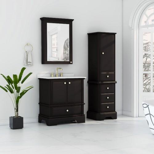 Charm Floor Mount 30'' Single Sink Vanity