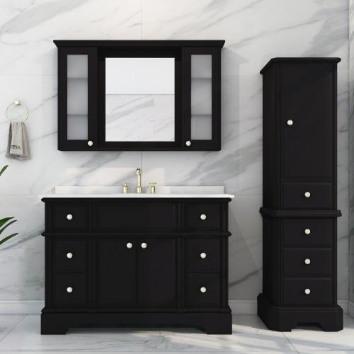 Charm Floor Mount 48'' Single Sink Vanity
