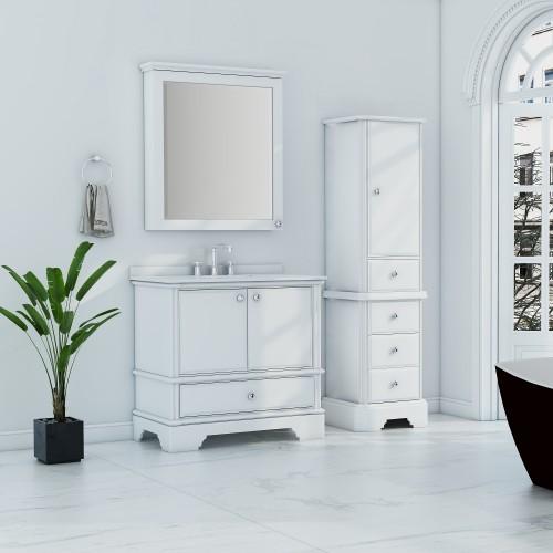 Charm Floor Mount 36'' Single Sink Vanity
