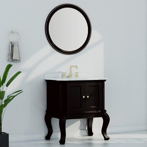 """Tempo Floor Mount 30"""" Single Sink Vanity"""