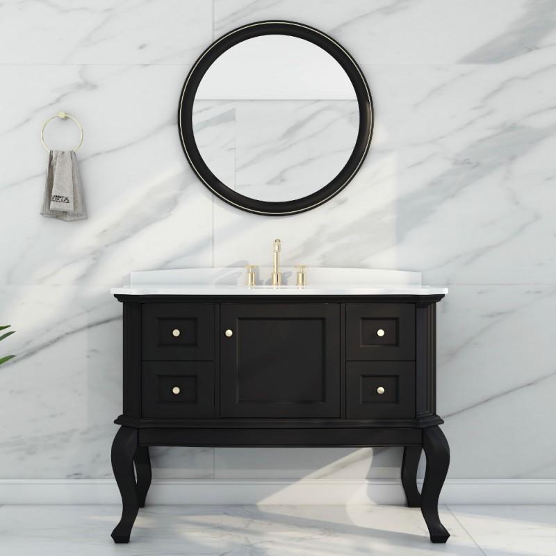 """Tempo Floor Mount 48"""" Single Sink Vanity"""