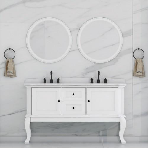 """Tempo Floor Mount 60"""" Double Sink Vanity"""
