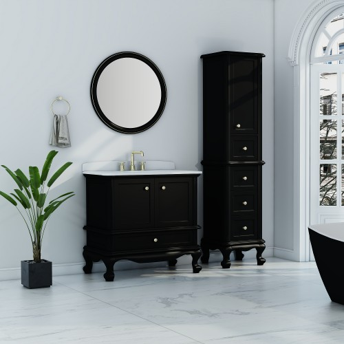 "Madera Floor Mount 30"" Single Sink Vanity"