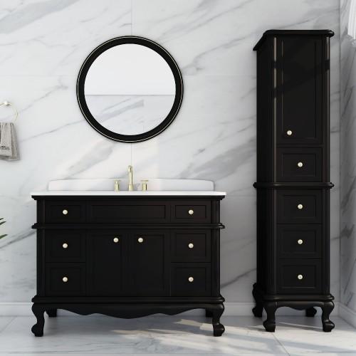 "Madera Floor Mount 48"" Single Sink Vanity"