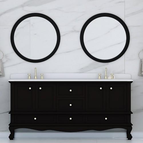 """Madera Floor Mount 72"""" Double Sink Vanity"""