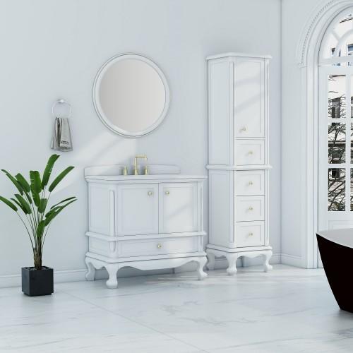 "Madera Floor Mount 36"" Single Sink Vanity"