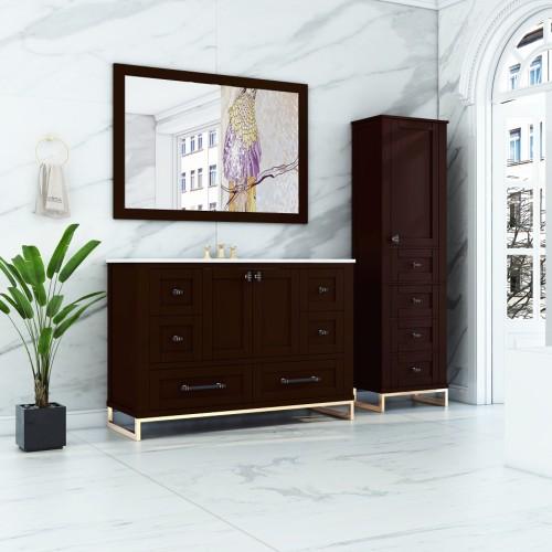 """Hampton Floor Mount 48"""" Single Sink Vanity"""