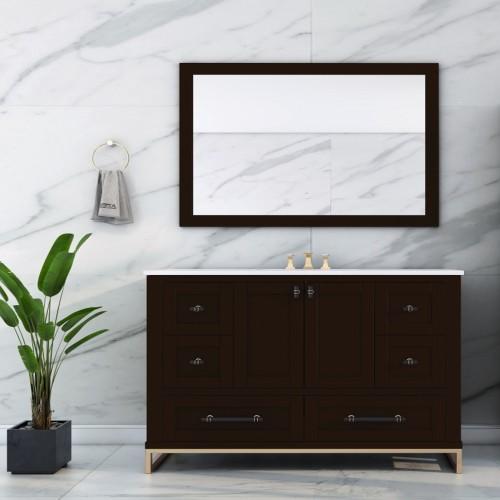 """Hampton Floor Mount 60"""" Single Sink Vanity"""