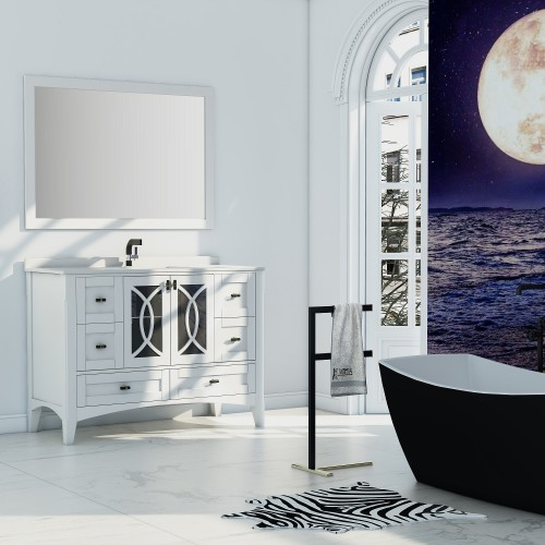 "Romance Floor Mount 48"" Single Sink Vanity"
