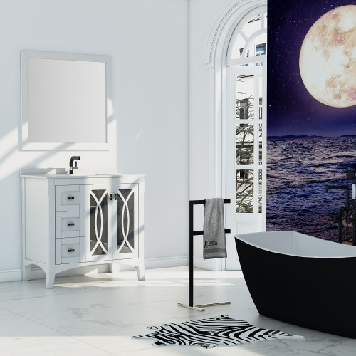 "Romance Floor Mount 36"" Single Sink Vanity"