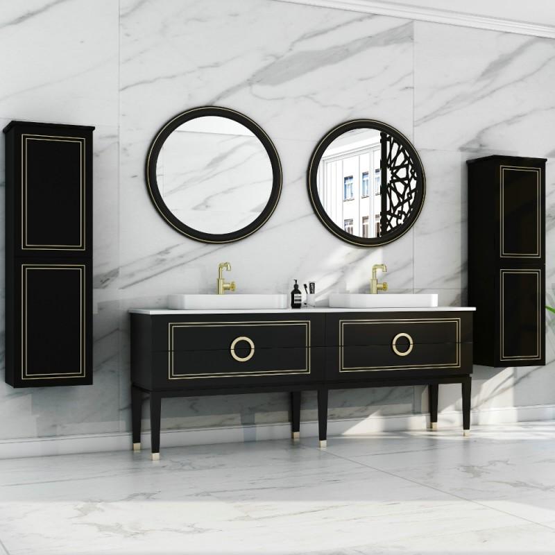 """Sarah Floor Mount 72"""" Double Vessel Sink Vanity"""