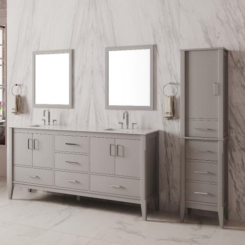 """Essence Floor Mount 72"""" Double Sink Vanity"""