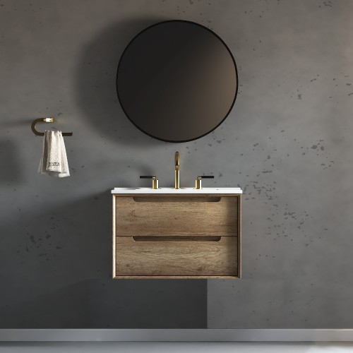 "Ashley Wall Hung 30"" Single Sink Vanity"