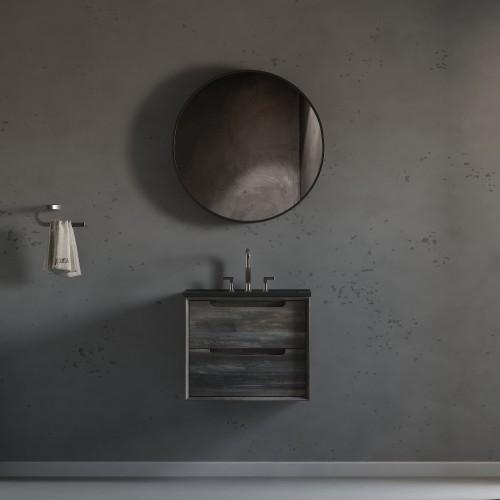 "Ashley Wall Hung 24"" Single Sink Vanity"