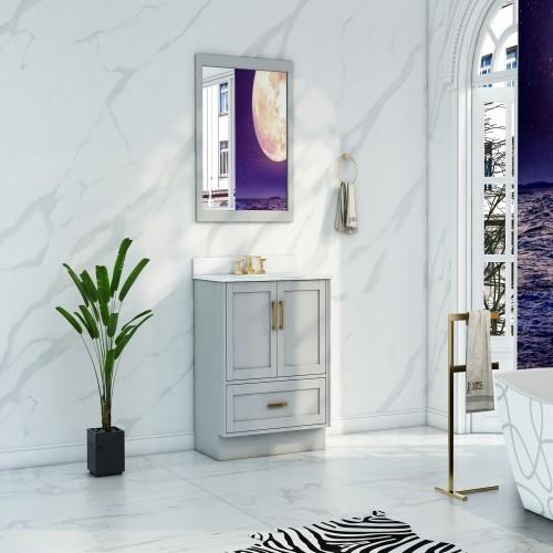 """Flow Floor Mount 20"""" Single Sink Vanity"""