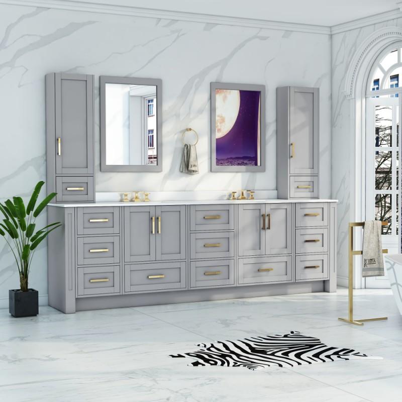 Flow Custom Size Floor Mount Vanity