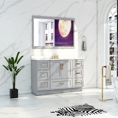 """Flow Floor Mount 48"""" Single Sink Vanity"""