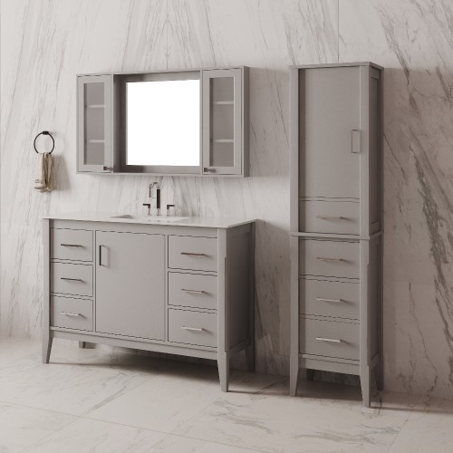 "Essence Floor Mount 42"" Single Sink Vanity"
