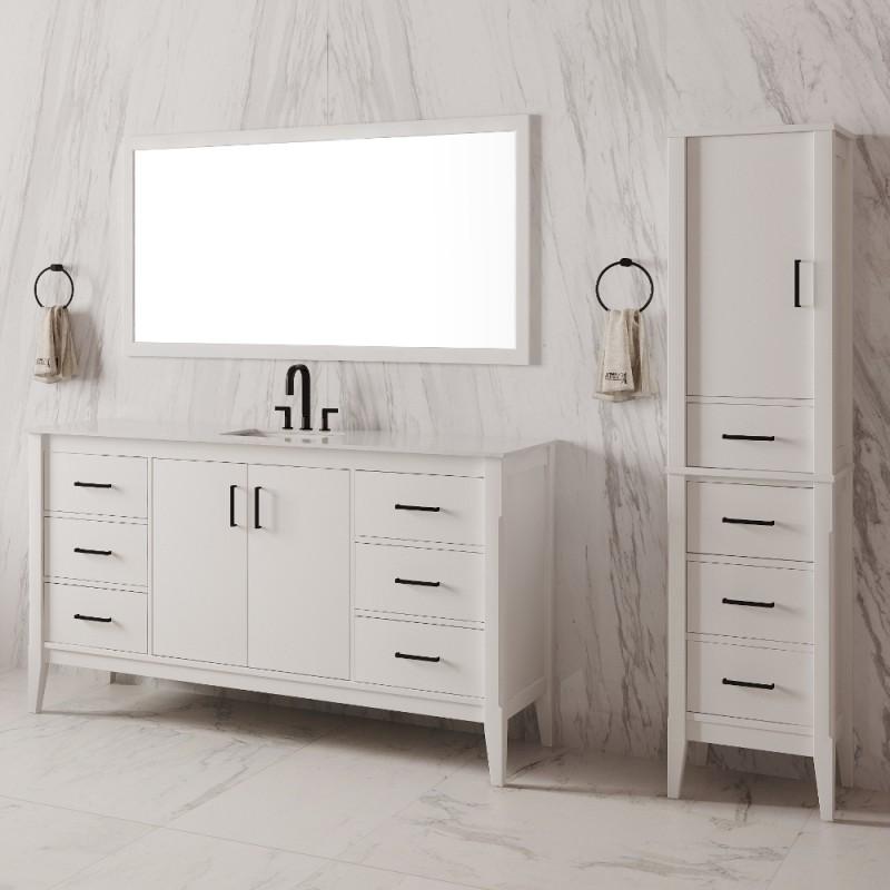 "Essence Floor Mount 60"" Single Sink Vanity"