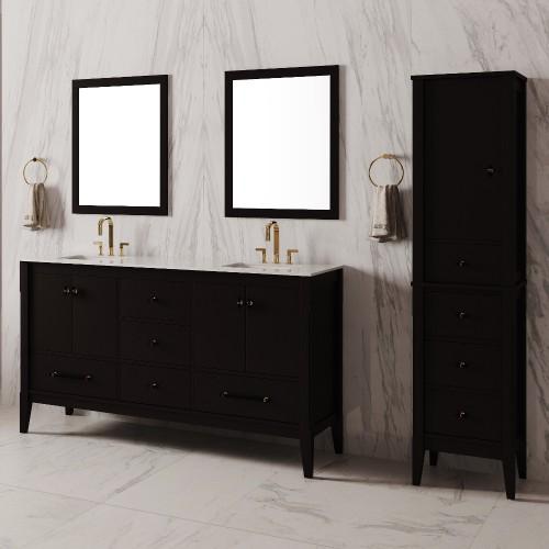 """Essence Floor Mount 60"""" Double Sink Vanity"""
