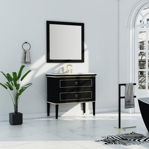"Blackstar Floor Mount 36"" Single Sink Vanity"