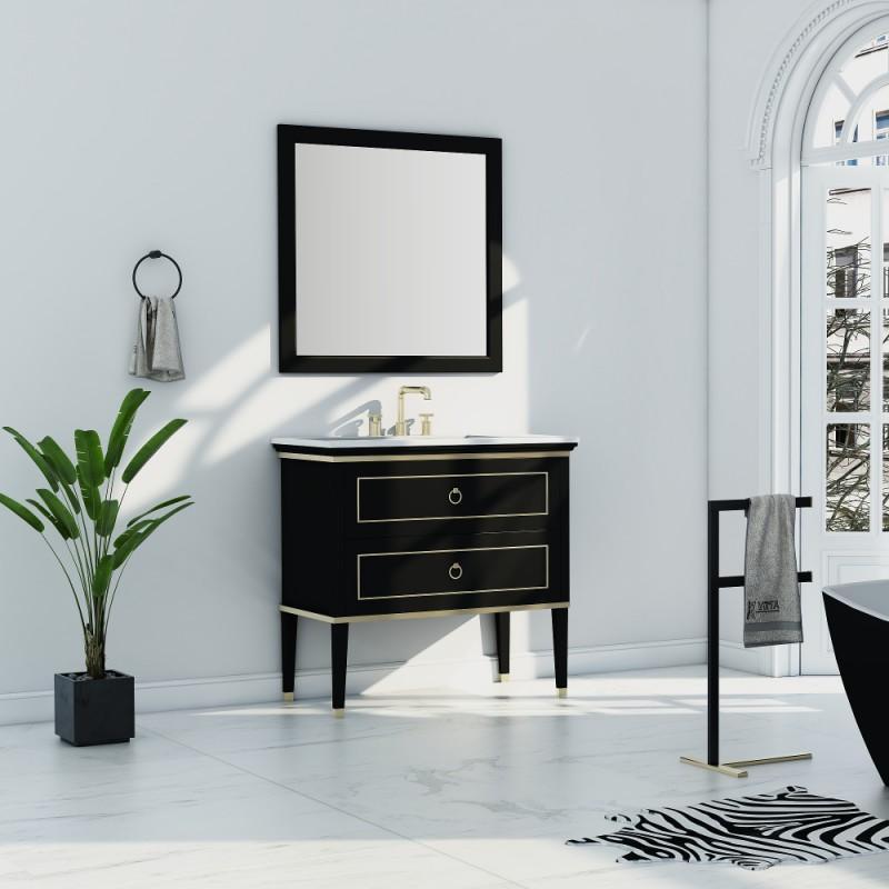 """Blackstar 36"""" Single Sink Vanity"""