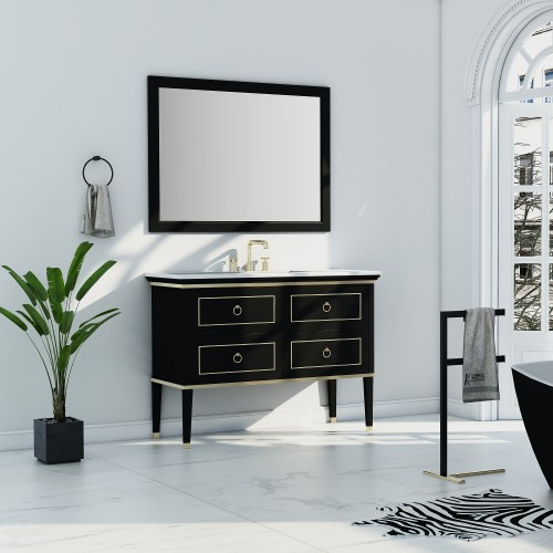 "Blackstar Floor Mount 48"" Single Sink Vanity"