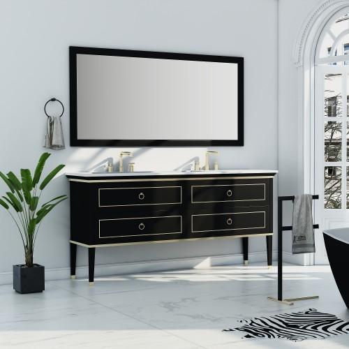 "Blackstar 72"" Double Sink Vanity"