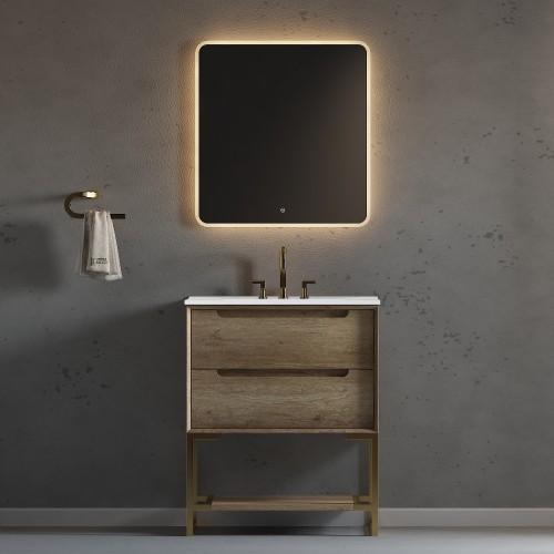 "Ashley Floor Mount 30"" Single Sink Vanity"