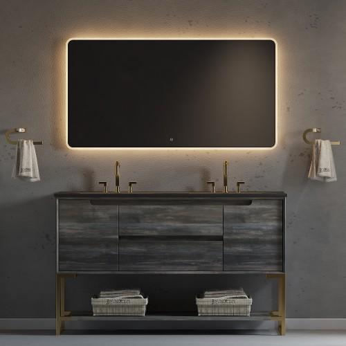 "Ashley Floor Mount 60"" Double Sink Vanity"