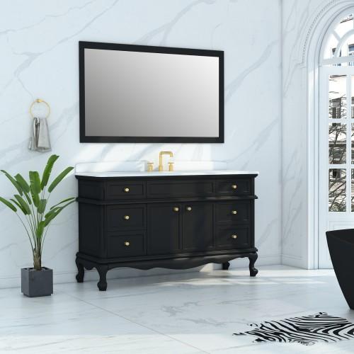 """Madera Floor Mount 60"""" Vanity"""