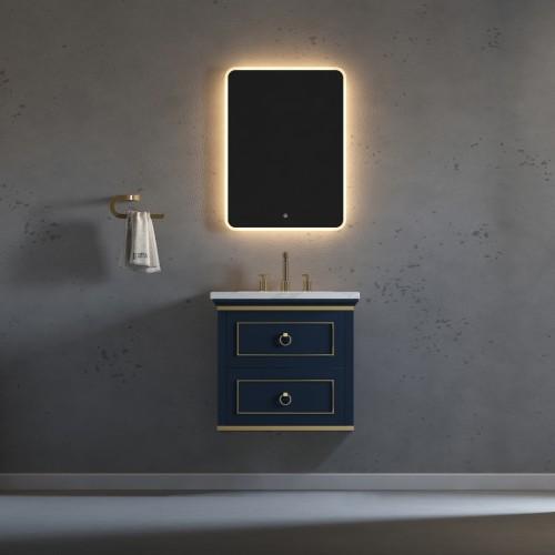 "Bluestar Wall Hung 24"" Single Sink Vanity"