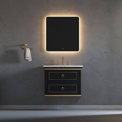 "Blackstar Wall Hung 30"" Single Sink Vanity"