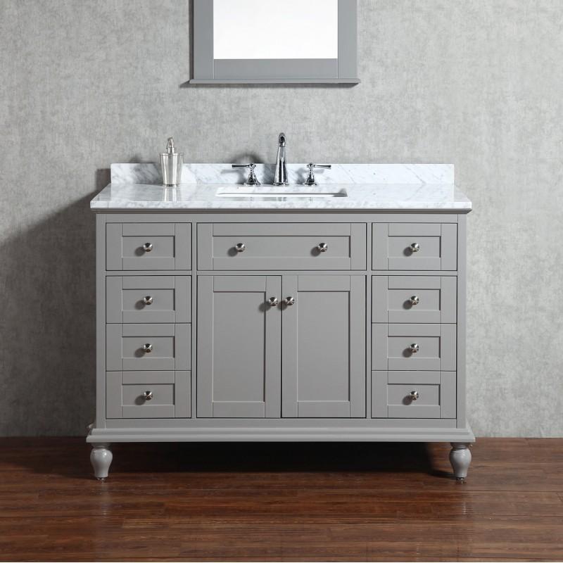 "Yasmine Floor Mount 48"" Single Sink Vanity"