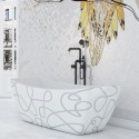 Bathtubs with Artwork